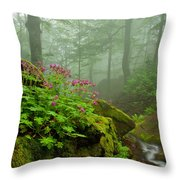 Scent Of Spring Throw Pillow by Evgeni Dinev
