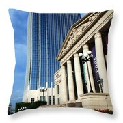 Schermerhorn Symphony Center Nashville Throw Pillow by Susanne Van Hulst