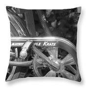 Schwinn Apple Krate Throw Pillow by Lauri Novak