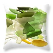 Sea glass Throw Pillow by Fabrizio Troiani