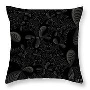 Seashells Throw Pillow by Candice Danielle Hughes