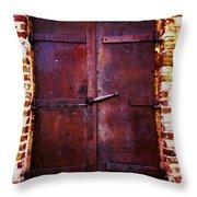 Secret Door Throw Pillow by Cheryl Young
