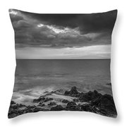 Secret Sun Throw Pillow by Jon Glaser