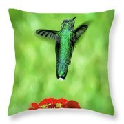 See Ya Later Throw Pillow by Sue Melvin