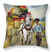 SEED COMPANY POSTER, c1880 Throw Pillow by Granger