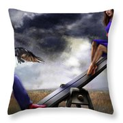 Seesaw 2aa-series Throw Pillow by Reggie Duffie
