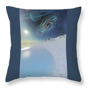 Serenity Throw Pillow by Corey Ford