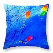 Set Free Throw Pillow by Anne Duke