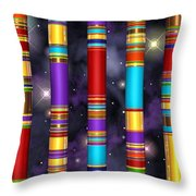 Seven Throw Pillow by Andreas Thust