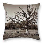 Shade Free - Sepia Throw Pillow by Christopher Holmes