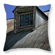 Shadows Reflections And Lines Throw Pillow by Murray Bloom