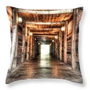 Shafted Throw Pillow by Michael Garyet
