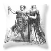 Shakespeare: Macbeth, 1845 Throw Pillow by Granger