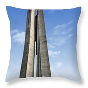 Shanghai - Monument To The People's Heroes Throw Pillow by Christine Till