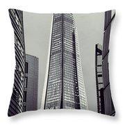 Shard of Glass Throw Pillow by Jasna Buncic