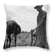 Sharecroppers Son, 1937 Throw Pillow by Granger