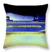 Shipshape 7 Throw Pillow by Will Borden