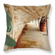 Shipyard Throw Pillow by Gaspar Avila