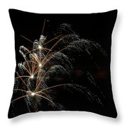 Shooting Stars Throw Pillow by Phill  Doherty