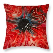 Show Stopper Throw Pillow by Sharon Cummings