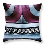 Showdown 4 Throw Pillow by Skip Hunt