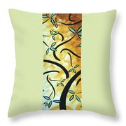 Simply Glorious 2 By Madart Throw Pillow by Megan Duncanson