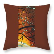 Simply Glorious 3 By Madart Throw Pillow by Megan Duncanson