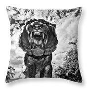 Sir Mike Throw Pillow by Scott Pellegrin