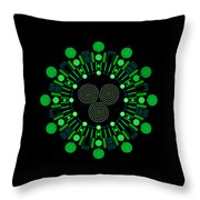 Sky Chief Color Throw Pillow by DB Artist