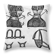 SLAVERY: IRONS, 1807 Throw Pillow by Granger