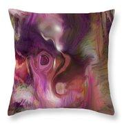 Sleep Of No Dreaming Throw Pillow by Linda Sannuti