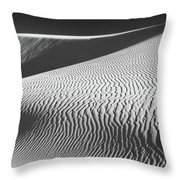 Slipping Through My Fingers Throw Pillow by Laurie Search