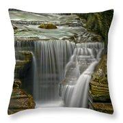 Smooth Throw Pillow by Evelina Kremsdorf