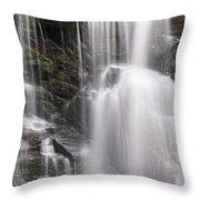 Soco Falls North Carolina Throw Pillow by Steve Gadomski