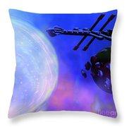 Solar Nexus Throw Pillow by Corey Ford