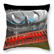 Some Cars Are Born Bad Throw Pillow by Christine Till
