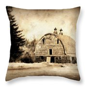 Somethings Missing Throw Pillow by Julie Hamilton