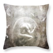 Sometimes Throw Pillow by Jacky Gerritsen