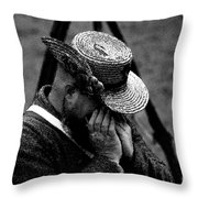 Sounds Of The Old West Throw Pillow by David Lee Thompson