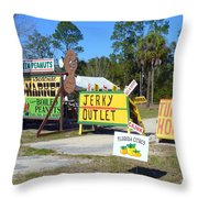 Southern Delights Throw Pillow by Carla Parris
