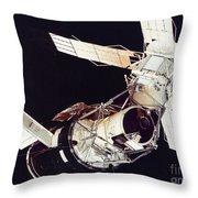 SPACE: SKYLAB 3, 1973 Throw Pillow by Granger