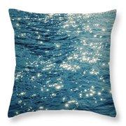 Sparkles Throw Pillow by Wim Lanclus