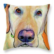 Spenser Throw Pillow by Pat Saunders-White