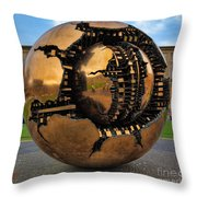 Sphere Within Sphere Throw Pillow by Inge Johnsson