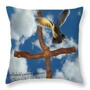 Spirit Of God Throw Pillow by Robyn Stacey