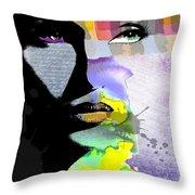Spirit Throw Pillow by Ramneek Narang