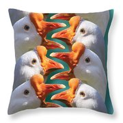 Sport - Baseball - Out Safe Out Safe Throw Pillow by Mike Savad