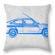Sports Car Throw Pillow by Naxart Studio