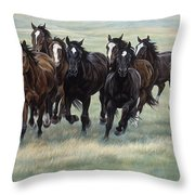 stampede Throw Pillow by JQ Licensing