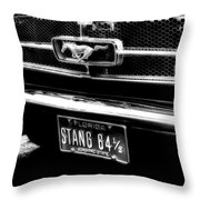 Stang Throw Pillow by Kenneth Krolikowski
